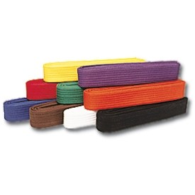 Belt colours and gradings within Motoha Yoshin Ryu UK