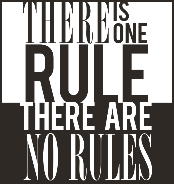 Dojo Rules - There are no rules :)