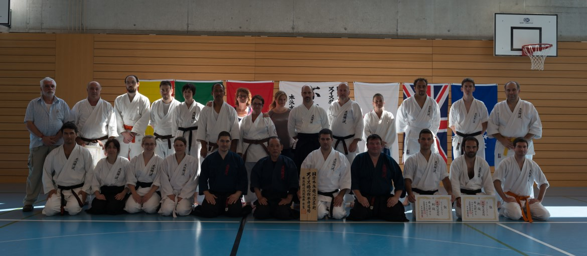 Moto-ha Yoshin Ryu Switzerland Taikai 2014